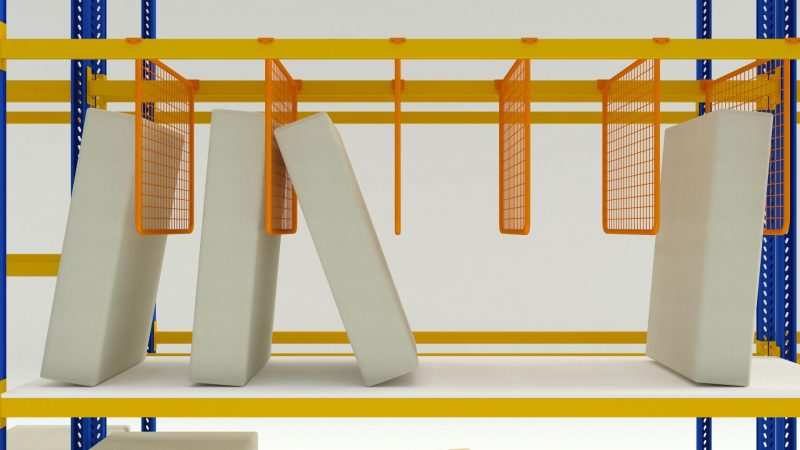 Pallet rack dividers | Racking accessories | MGL sp. z o.o.