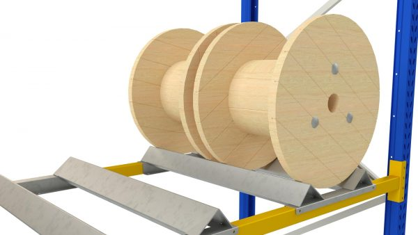 Stand for cable drums and reels | Racking accessories | MGL sp. z o.o.