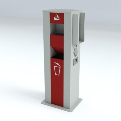 TouchFREE Automatic Hand Disinfection Station | RAL 7035-3002-9016
